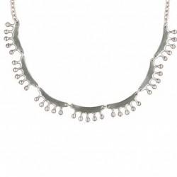Collier Toulhoat perlé 7 elts