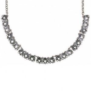 Toulhoat Ram's horn necklace 7 elts