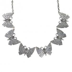 Collier Toulhoat papillons 6 elts