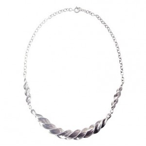 Toulhoat Big twisted necklace