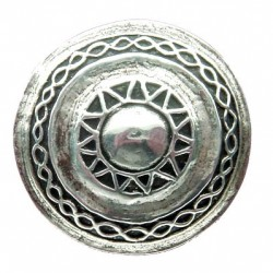 Toulhoat Round brooch