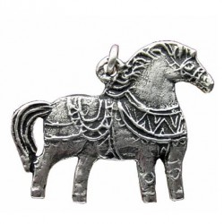 Toulhoat Poney pendant