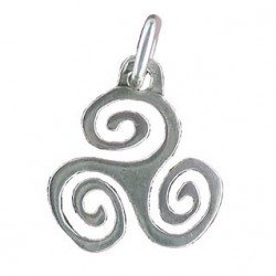 Toulhoat Thick triskel pendant