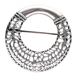Toulhoat Circle brooch