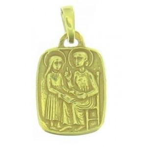 Médaille Toulhoat sainte Anne