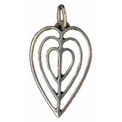 Toulhoat Openwork heart pendant