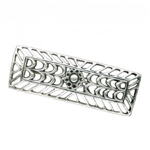 Toulhoat Rectangle brooch