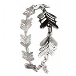 Bracelet Toulhoat feuillages 8 elts