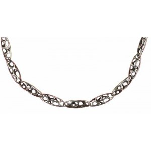 Toulhoat Baroque chain necklace 17 elts