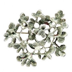 Toulhoat Pastille brooch (round)