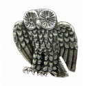 Toulhoat Small owl brooch