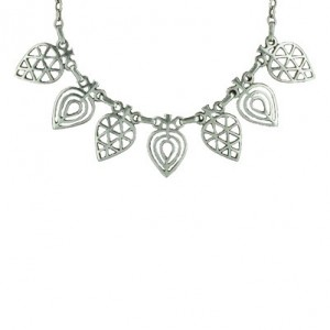 Toulhoat Leaves necklace