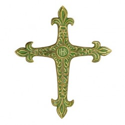 Toulhoat Rustic lily cross