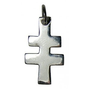 Croix de Lorraine bâton petite