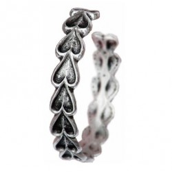 Toulhoat Heart chain bracelet 18 cm