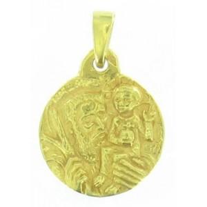 Toulhoat Round Christophe medal
