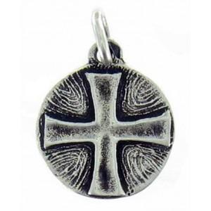 Médaille ronde Croix