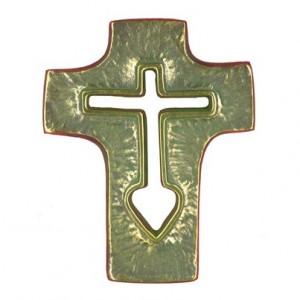 Croix au cœur petite Toulhoat
