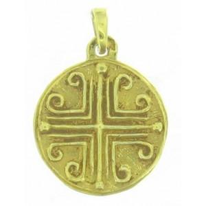 Médaille Toulhoat Croix pattée aux enroulements