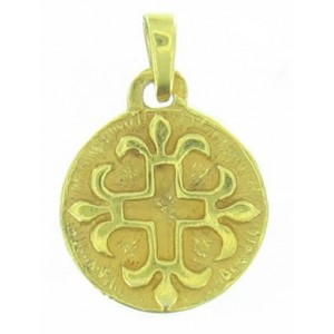 Médaille Toulhoat Croix pattée aux lys