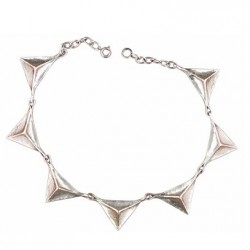 Toulhoat Wolf teeth necklace 7 elts