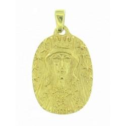 Médaille Toulhoat Vierge couronnée