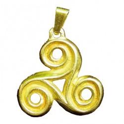 Toulhoat Medium-sized triskel pendant