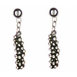 Blackberry earrings pendants