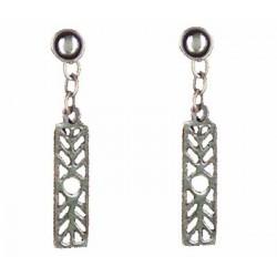 Slide earrings pendants