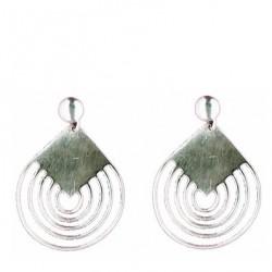 Cloth earrings pendants