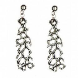 Seaweed earrings pendants