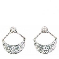Moon earrings pendants