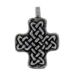 Cross with interlace 4.8g 2.5x2.5cm