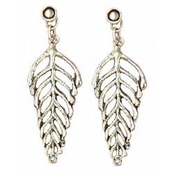 Fern earrings pendants