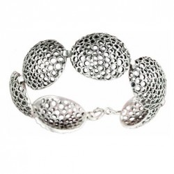 Toulhoat Shell bracelet 6 elts 175 cm