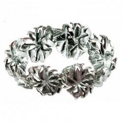 Toulhoat Small roses bracelet 8 elts 17 cm