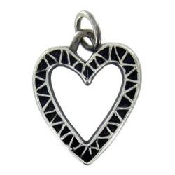 Toulhoat Pierced heart pendant