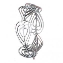 Toulhoat Iseult bracelet 6 elements 18 cm