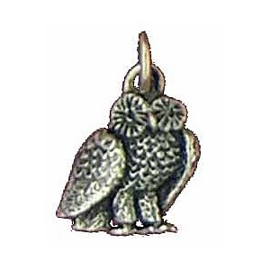 Pendentif Toulhoat hibou breloque