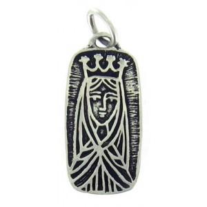 Médaille Vierge en rectangle