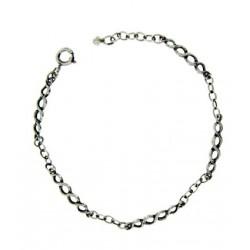 Toulhoat twisted bracelet 5 elts 17 cm