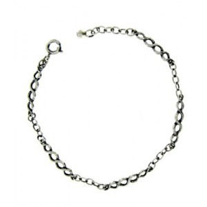 Bracelet Toulhoat torsades 5 elts 17 cm