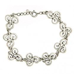 Toulhoat Cut-out triskels bracelet 14g