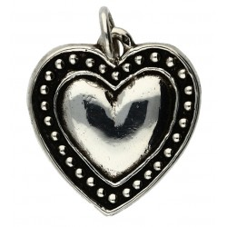 Pendentif Toulhoat cœur joli