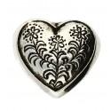 Pendentif Toulhoat cœur de costume petit
