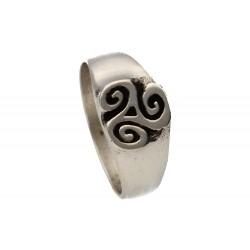 Bijou celtique : chevalière celtique toulhoat, faites là tourner pour mieux la découvrir !