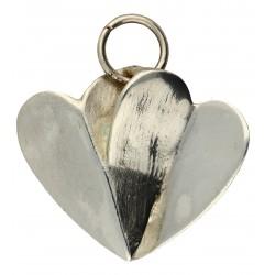 Toulhoat 2 hearts pendant
