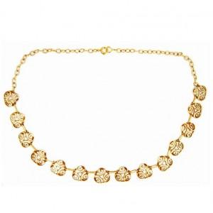Toulhoat Triskel Necklace 25.8g