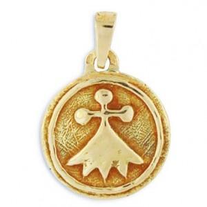 Pendentif Toulhoat médaille hermine