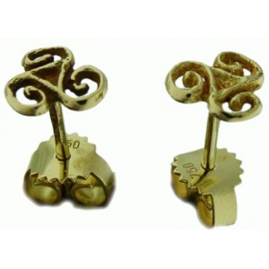 Toulhoat Triskel earrings 2.26g